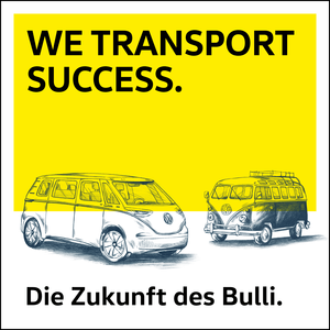 We transport success - Die Zukunft des Bulli