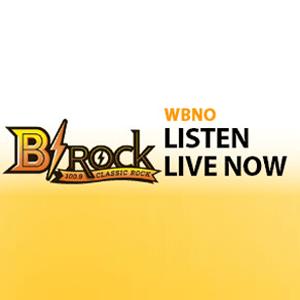Radio WBNO-FM - B-Rock 100.9 FM
