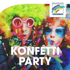 Radio Radio Regenbogen - Konfetti-Party
