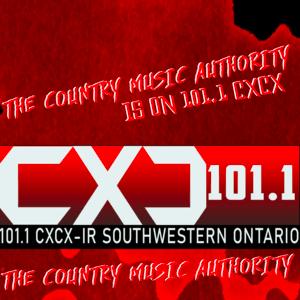 Radio 101.1 The Country Music Authority - CXCX 101